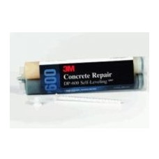 3M™ Concrete Repair 600 Gray Self-Leveling, 8.4 oz cartridge/2 mix nozzles