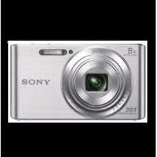Sony - DSC-W830 20.1-Megapixel Digital Camera - Silver