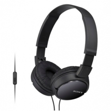 Sony - ZX Series On-Ear Headphones - Black