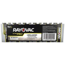RAYOVAC 9-VOLT - 6 PACK