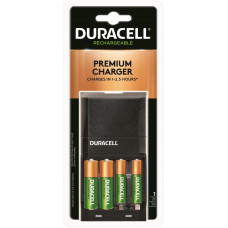 Charge Time: 1-2.5 hrs., Includes: 1 charger and 2 AA and 2 AAA NiMH batteries.