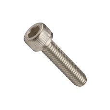"#0-80 X 1/2"" SOCKET HEAD CAP SCREWS FINE STAIN A2 (18-8)"