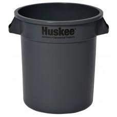 Huskee™ Round Receptacle 10 gal. Grey