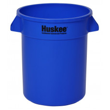 Huskee™ Round Receptacle 20 gal. Blue