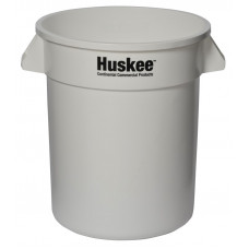 Huskee™ Round Receptacle 20 gal. White