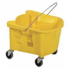 26 qt. Splash Guard™ Mop Bucket Yellow