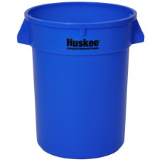 Huskee™ Round Receptacle 32 gal. Blue