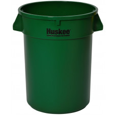 Huskee™ Round Receptacle 32 gal. Green
