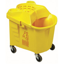 35 qt. Institutional Wringer Combo Yellow
