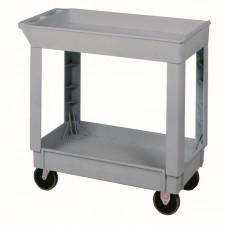 "Utility Cart 34 3/8"" x 17 1/2"" x 33"" Grey"