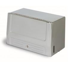 Single Fold Towel Cabinet Dispenser White