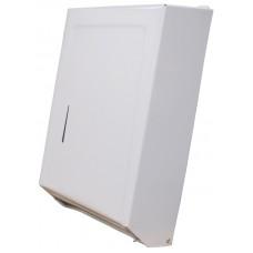Combo Towel Cabinet Dispenser White