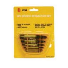 10PC Screw Extractor Set with Drills
