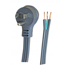 3-Conductor 16/3 SPT-3 Right Angle Plug Repair Cords