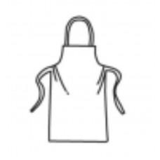 1 mil Polyethylene Apron w/ties (2846PE)