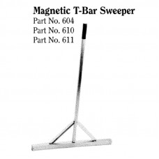 14 INCH WIDTH, MAGNETIC T-BAR SWEEPER