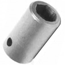 "1/2"" HEX, 1-1/4 INCH LONG, 3/8 SQUARE DRIVE SOCKETS"