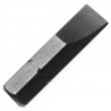 #1 POINT, 1 INCH LONG, 1/4 HEX SHANK SLOTTED INSERT BIT
