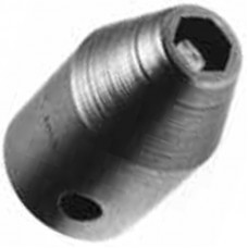 "1/2"" HEX TAPERED, 1-1/2 INCH LONG, 1/2 SQUARE DRIVE NON-MAG SOCKET"