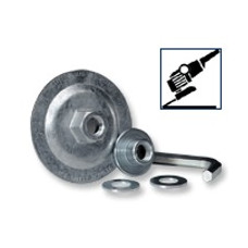 REUSABLE ADAPTER FOR 7 INCH AND 9INCH, T27 or T28 DEPRESSED CENTER GRINDING WHEELS