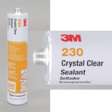 3M(TM) Crystal Clear Sealant 230, 310 mL Cartridge, 12 per case