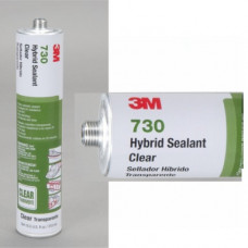 3M(TM) Hybrid Sealant 730 Clear, 310 mL Cartridge, 12 per case