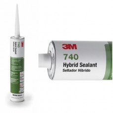 3M(TM) Hybrid Sealant 740 White, 310 mL Cartridge, 12 per case