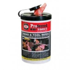 PROFERRED HAND & TOOL WIPES SINGLE PACK,