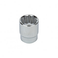 "1/2"" Drive Metric Socket, 10MM - 1/2 Inch Dr. 12 Pt. Metric Socket [TOTAL PRICE IS FOR 6 PCS IN ONE BOX]"