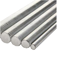 "1 1/2""-6x3' A307 Grade A All Thread Rods ZINC CR+3 (Pallet Qty:114)"